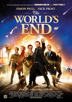Kinoplakat: The World's End
