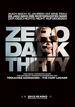 Kinoplakat: Zero Dark Thirty