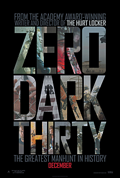 Kinoplakat (US): Zero Dark Thirty