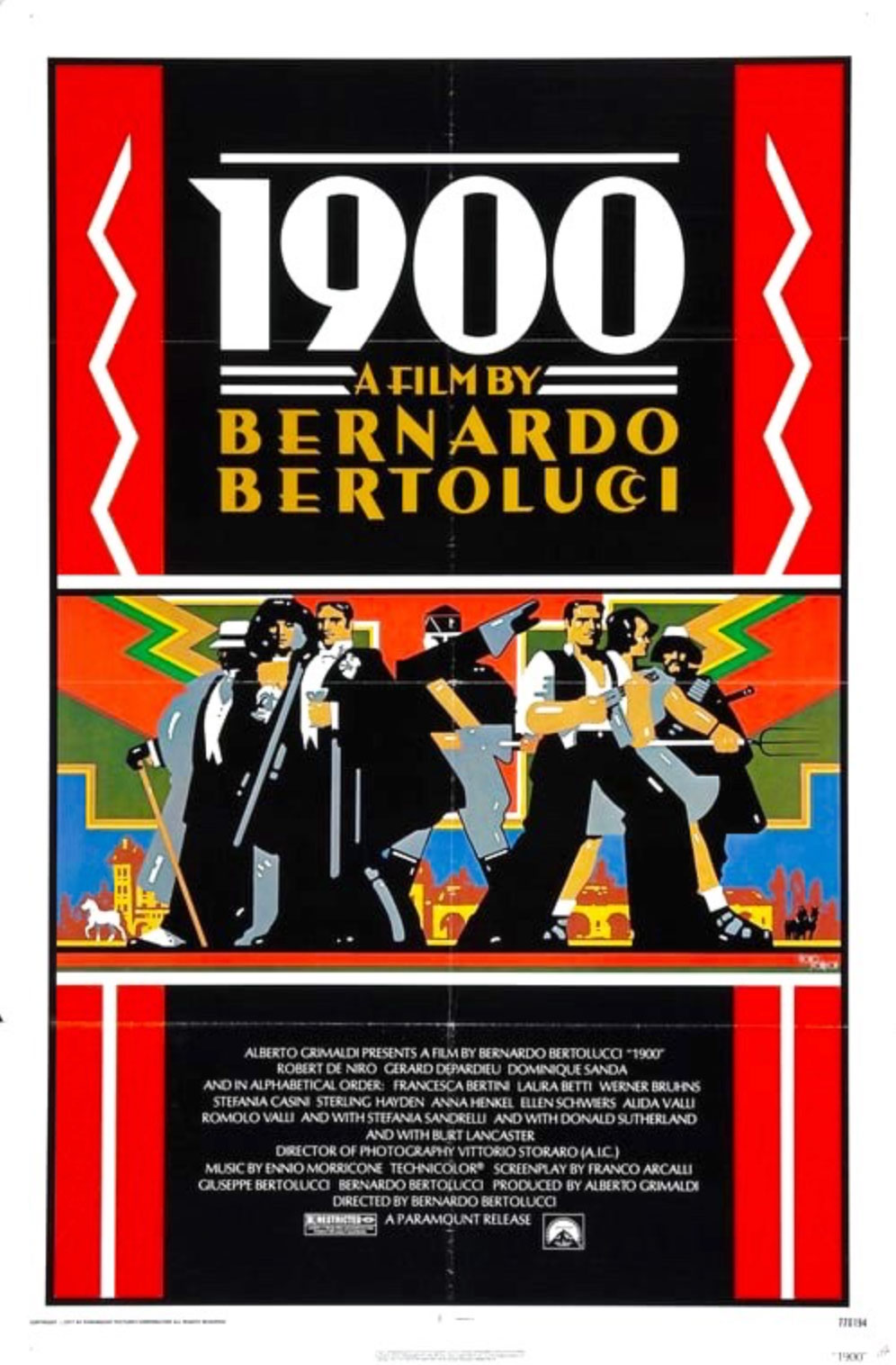 DVD-Cover (UK): 1900 (1976)