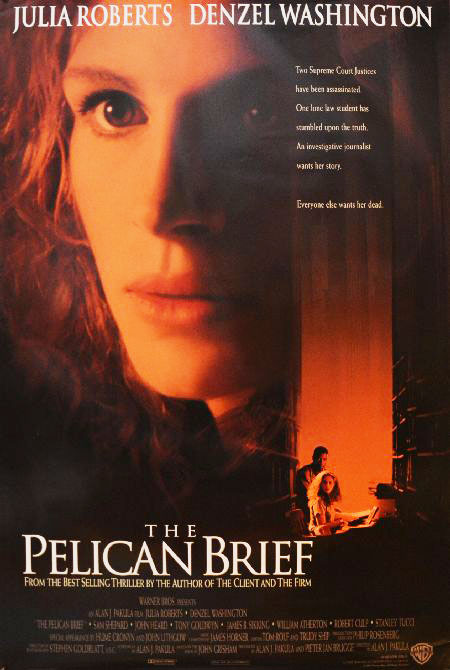 Plakatmotiv (US): The Pelican Brief – Die Akte (1993)