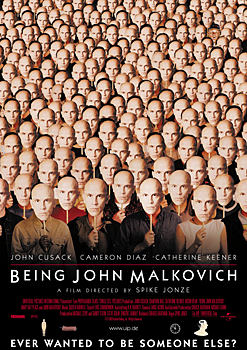 Kinoplakat (US): Being John Malkovich