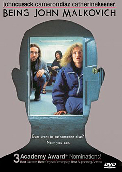DVD-Cover (US): Being John Malkovich