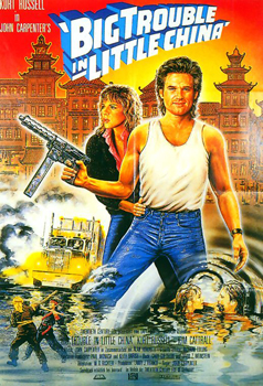Plakatmotiv: Big Trouble in Little China