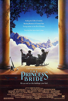 Kinoplakat (US): The Princess Bride
