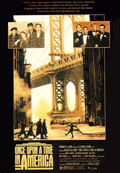 Kinoplakat (US): Once upon a time in America