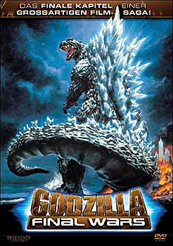 DVD-Cover: Godzilla – Final Wars
