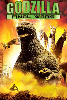 DVD-Cover (US): Godzilla – Final Wars