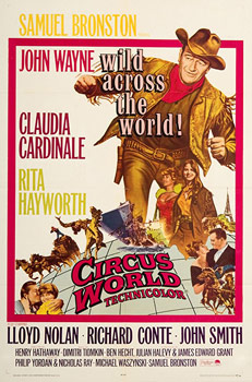 Plakatmotiv (US): Circus World (1964)