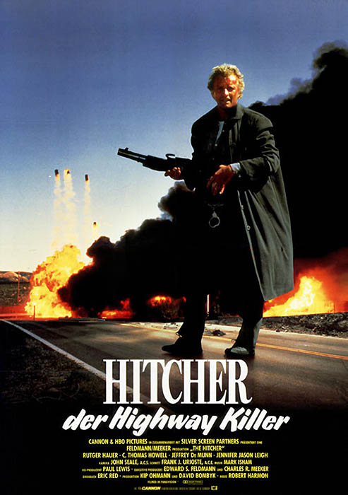 Plakatmotiv: Hitcher, der Highwaykiller (1986)
