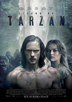 Kinoplakat: The Legend of Tarzan