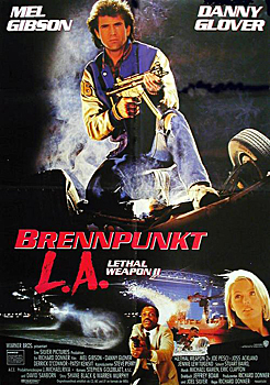 Kinoplakat: Lethal Weapon 2 - Brennpunkt L.A.