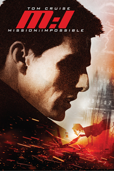 DVD-Cover: Mission Impossible