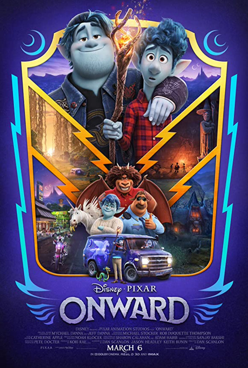 Plakatmotiv (US): Onward (2020)