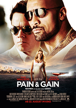 Kinoplakat: Pain & Gain
