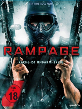 DVD-Cover: Rampage