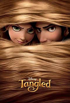 Kinoplakat (US): Tangled