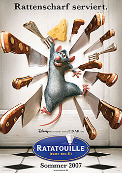 Teaserplakat: Ratatouille