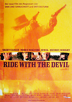 Kinoplakat: Ride with the Devil