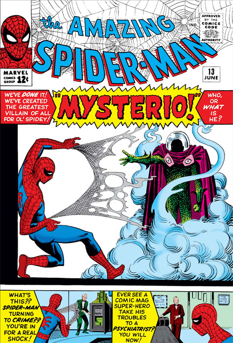 Cover: Spider-Man #13, 1963