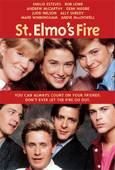 Videocover (US): St. Elmo's Fire
