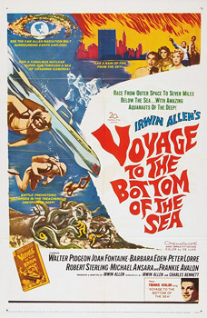Plakatmotiv (US): Voyage to the Bottom of the Sea (1961)