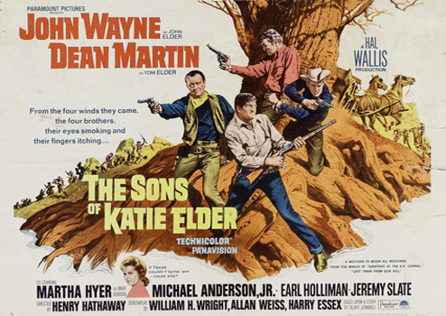 Plakatmotiv (US): The Sons of Katie Elder (1965)